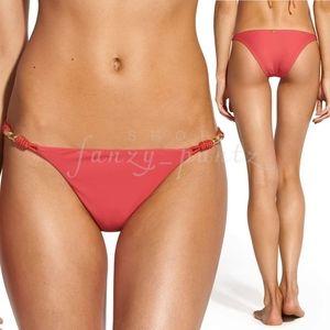 VIX Trim Roll Bikini Bottom Watermelon NEW cheeky